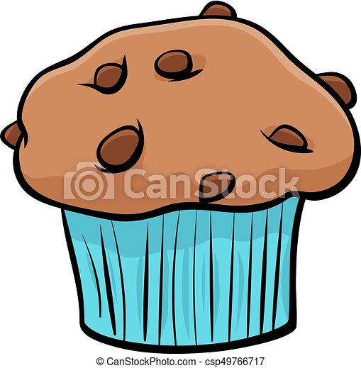 Muffin Objet Dessin Anime Chocolat Art Agrafe Nourriture