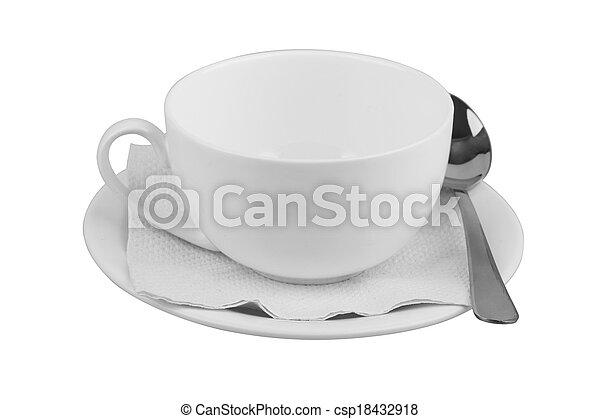 mug with saucer - csp18432918