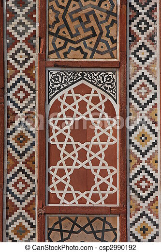 mughal, architektura - csp2990192