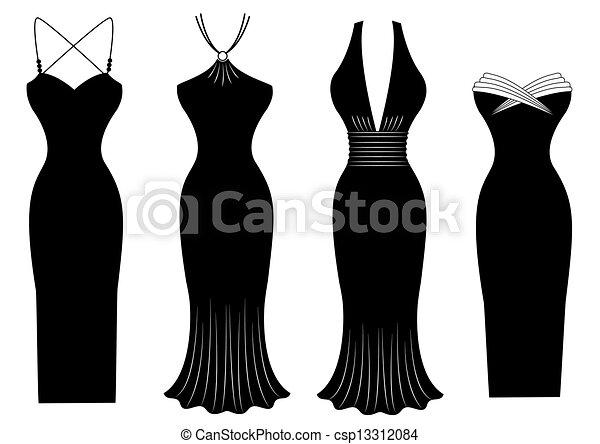 Para Vestidos De De Vestidos Dibujar Noche O6RI7Bq