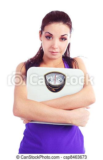 Mujer con escamas - csp8463673