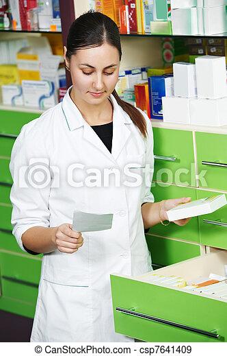 Una farmacia en la farmacia - csp7641409