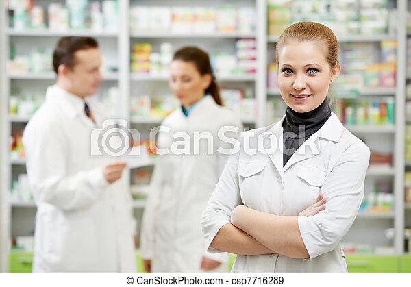 Una farmacia en la farmacia - csp7716289