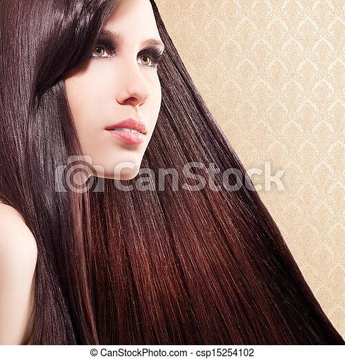 mujer hermosa - csp15254102