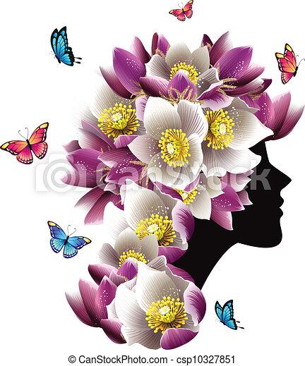 Hermosa mujer - csp10327851