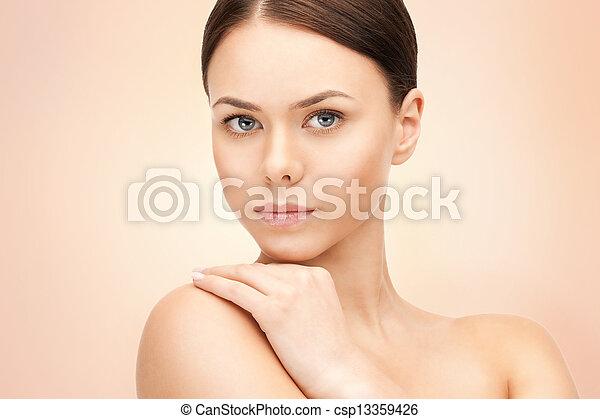 mujer hermosa - csp13359426