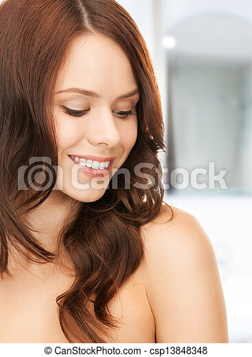 mujer hermosa - csp13848348