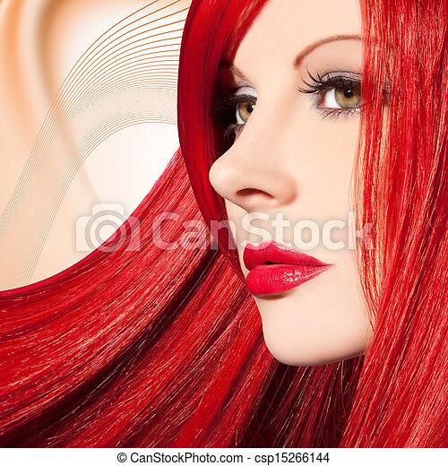mujer hermosa - csp15266144