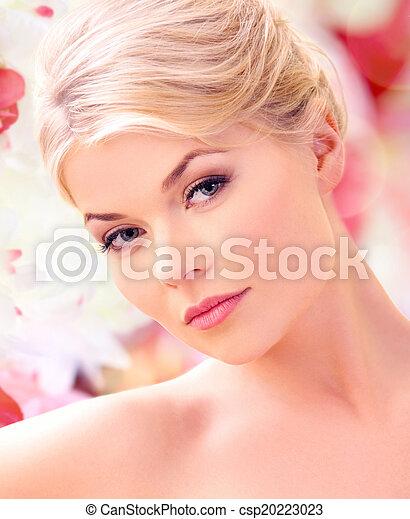 mujer hermosa - csp20223023