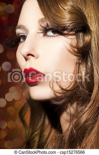 mujer hermosa - csp15276566