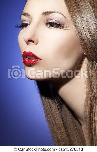 mujer hermosa - csp15276513