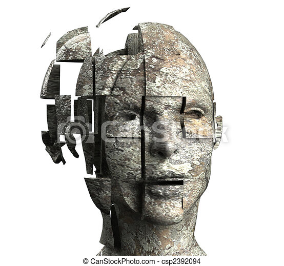 La mente de la mujer - csp2392094