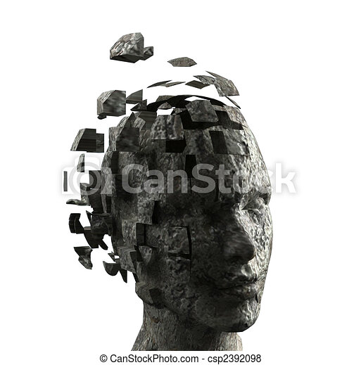 La mente de la mujer - csp2392098