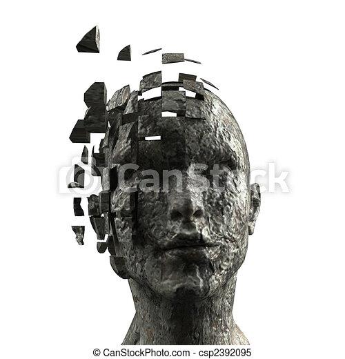 La mente de la mujer - csp2392095