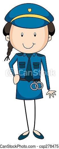 Policía - csp27847514