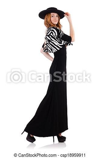 Que significa una mujer vestida de negro