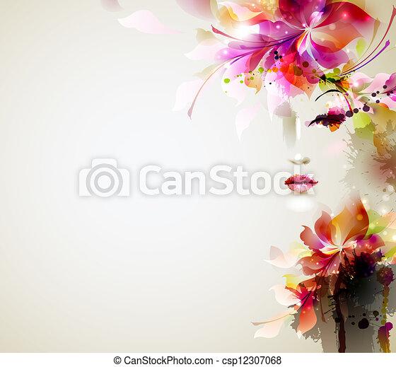 Mujeres de moda - csp12307068