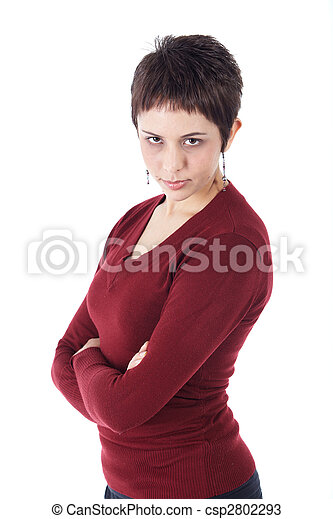 mulher, adulto jovem - csp2802293
