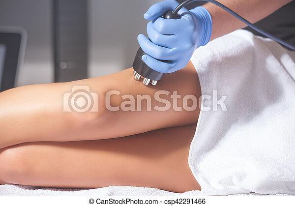 mulher, anti-cellulite, tratamento - csp42291466