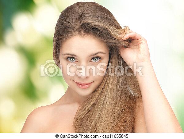 mulher bonita - csp11655845