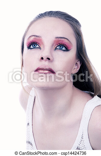 mulher bonita - csp14424736