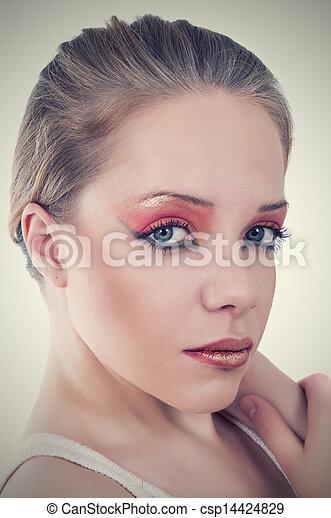 mulher bonita - csp14424829