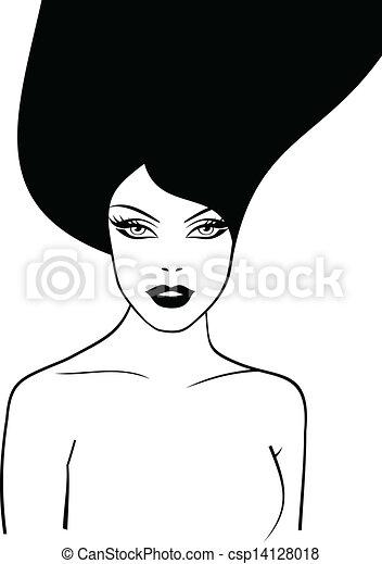 mulher bonita - csp14128018