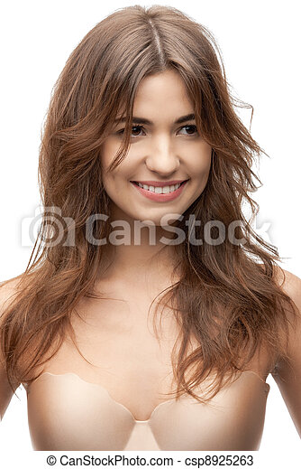 mulher bonita, soutien - csp8925263