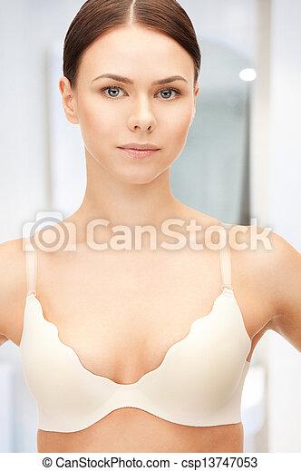 mulher bonita, soutien - csp13747053