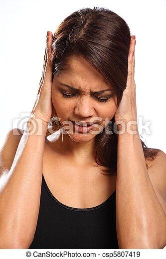mulher, dor, descrença, magoado - csp5807419