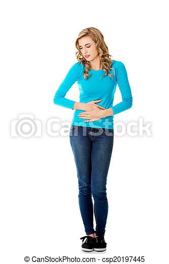mulher, estômago, edições - csp20197445