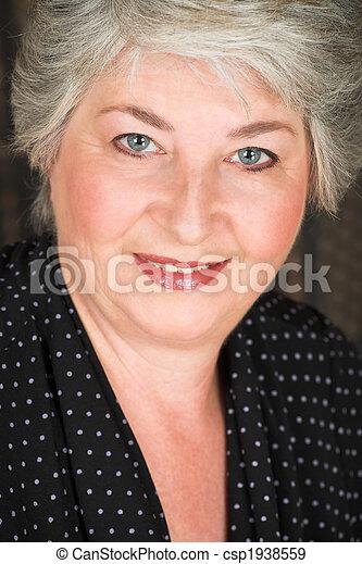 mulher, idoso, italiano - csp1938559