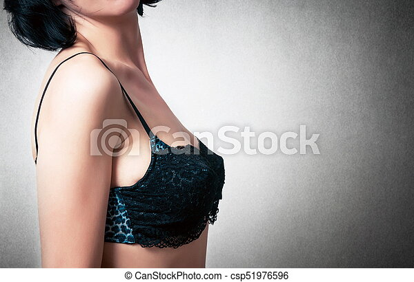 mulher, moda, soutien - csp51976596