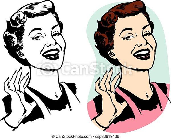 mulher, orgulhoso - csp38619438