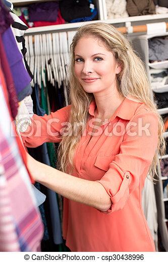 mulher, roupas - csp30438996