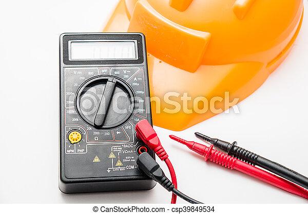 Multimetro digital - csp39849534