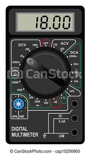 multímetro, digital - csp10256900
