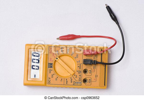 Multímetro digital - csp0963652