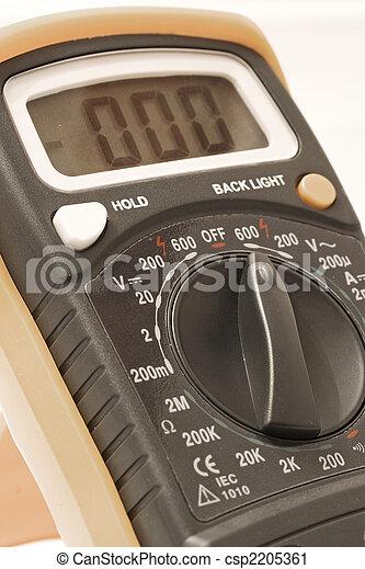 Multímetro digital - csp2205361