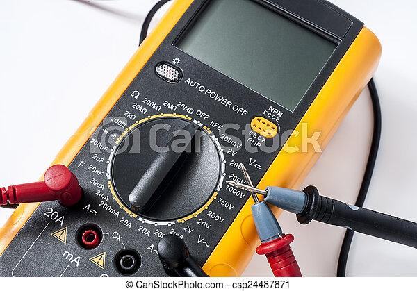 Multimetro digital - csp24487871