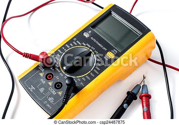 Multimetro digital - csp24487875