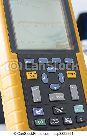 Multímetro digital - csp3322551