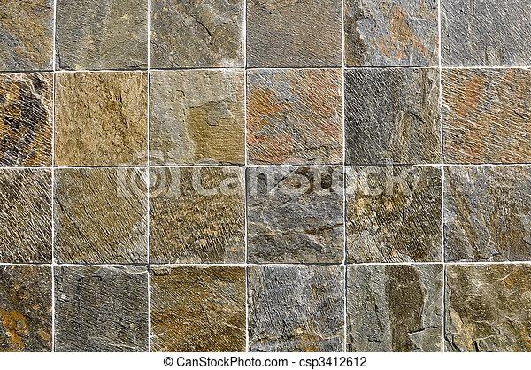 Multi Color Stone Tiles - csp3412612
