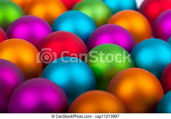 multi colored christmas ornaments