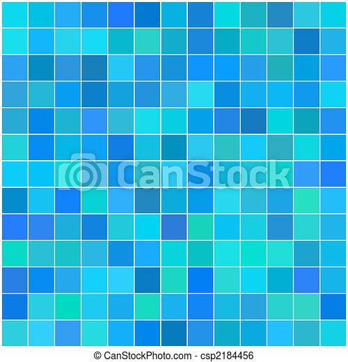 Color multicolor azulejos cuadrados - csp2184456