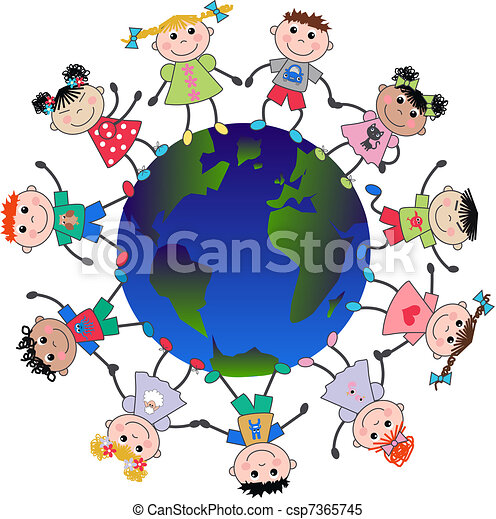 cultural diversity clipart and stock illustrations 1 479 cultural rh canstockphoto com The Diversity in Workplace Diversity Graphics