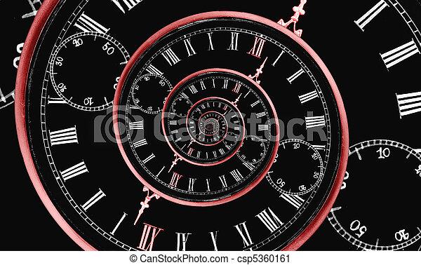 multi, spirale, tempo - csp5360161