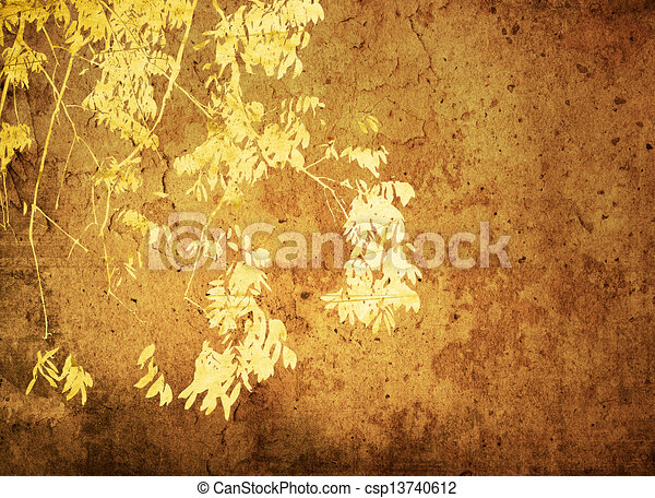 Multicolor foliage background   - csp13740612