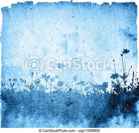 Multicolor foliage background - csp11068800