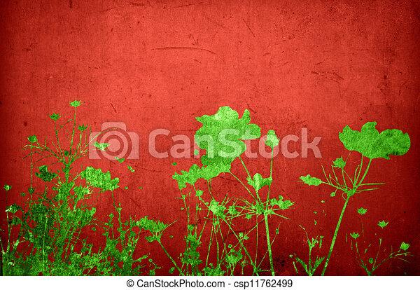 Multicolor foliage background - csp11762499